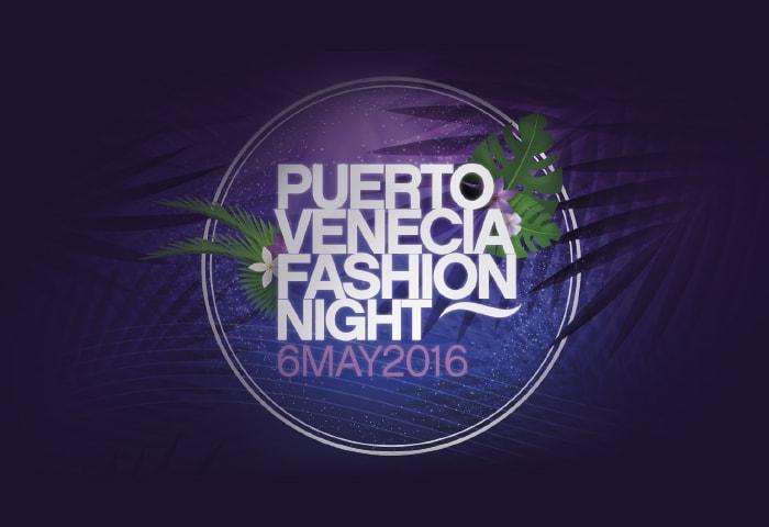 Diseño gráfico campaña Fashion Night Puerto Venecia