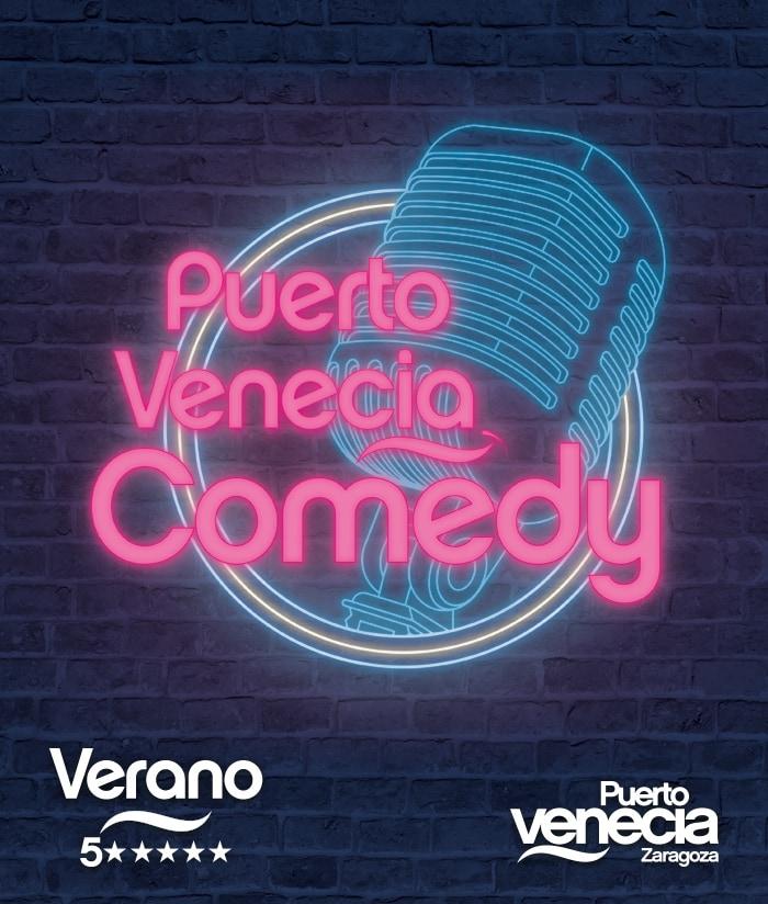 Diseño gráfico Puerto Venecia Comedy