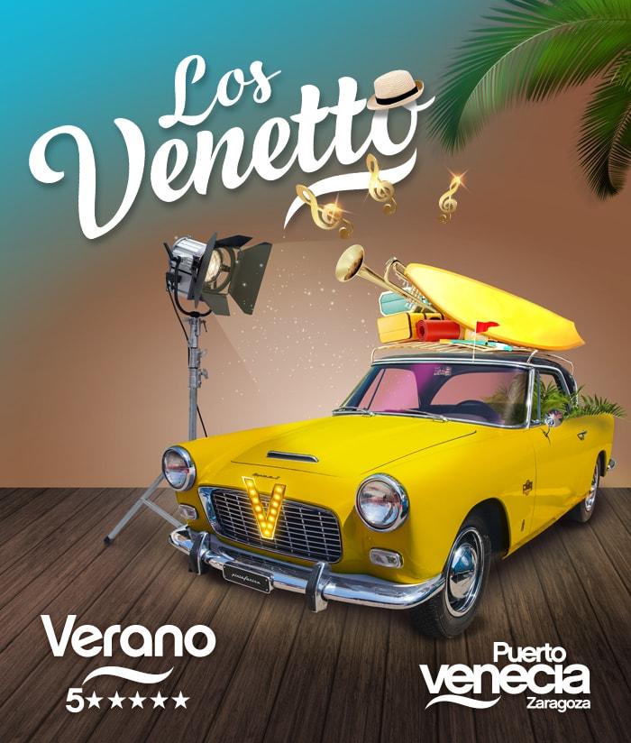 Diseño gráfico Puerto Venecia Los Venetto