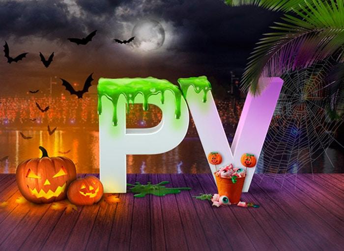 Imagen 3D campaña de Halloween Puerto Venecia