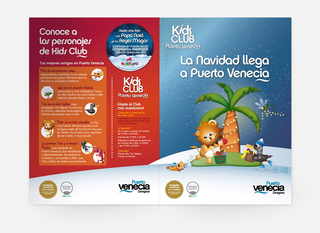 Kids Marketing. Kids Club Puerto Venecia