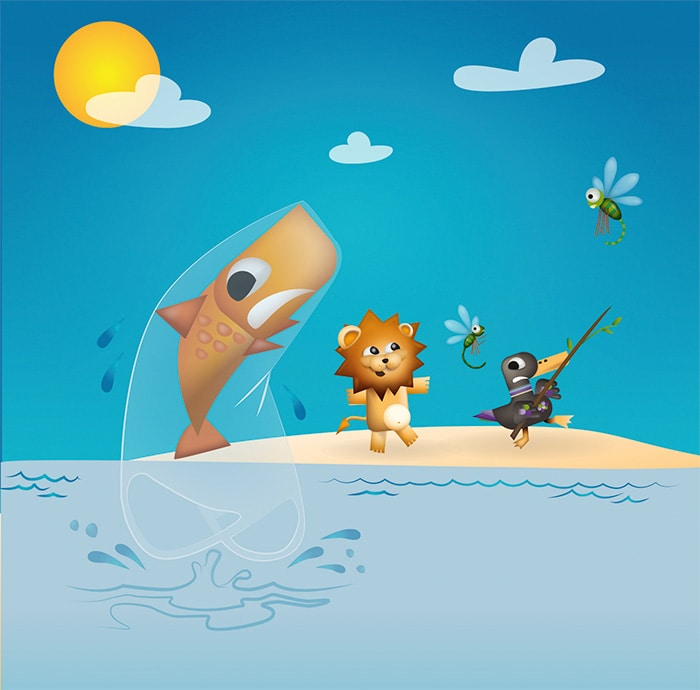 diseño mascotas kids club puerto venecia