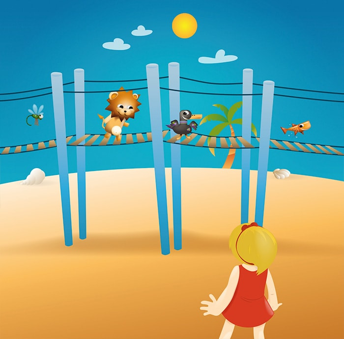 diseños cuentos kids club puerto venecia