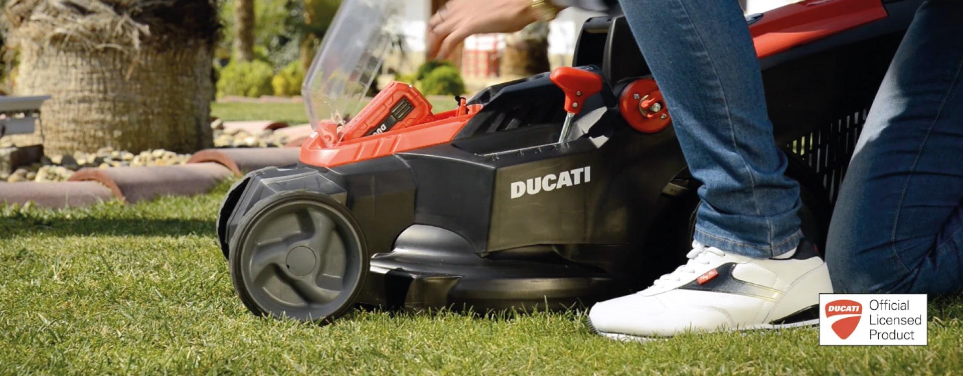 Customización maquinaria gama Ducati Garden. Grupo Miralbueno
