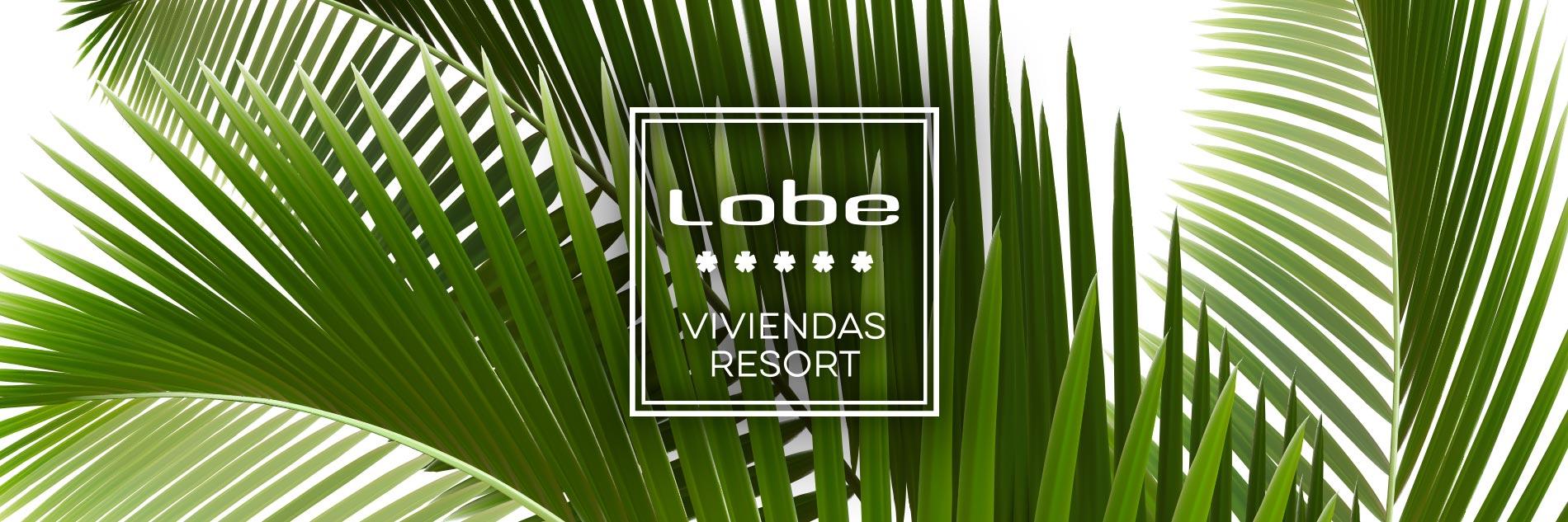 Imagen de campaña Viviendas Resort. Grupo Lobe