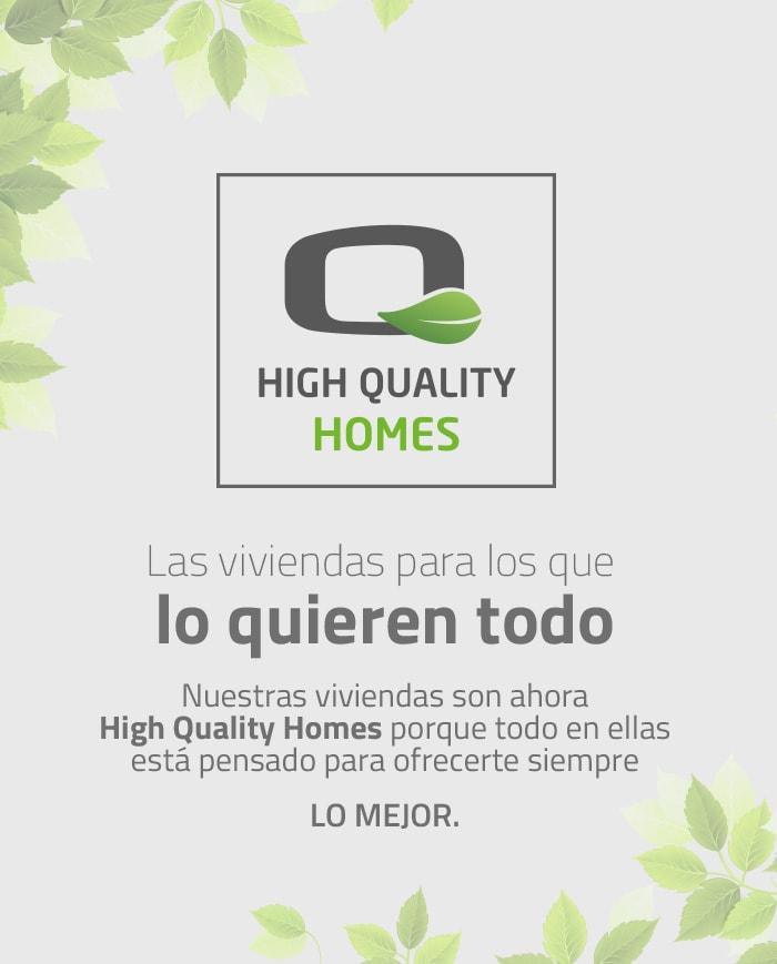 Identidad corporativa. Branding design High Quality Homes. Grupo Lobe