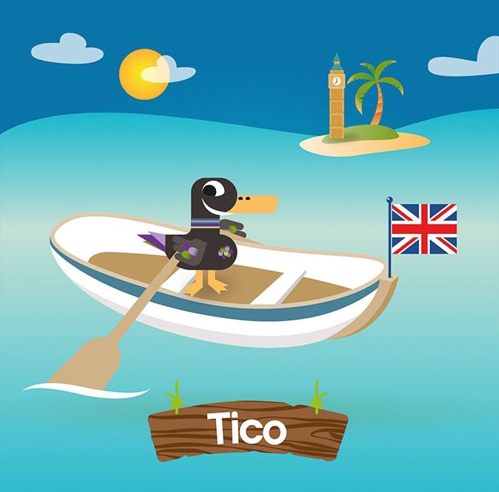 diseño de personajes kids club puerto venecia