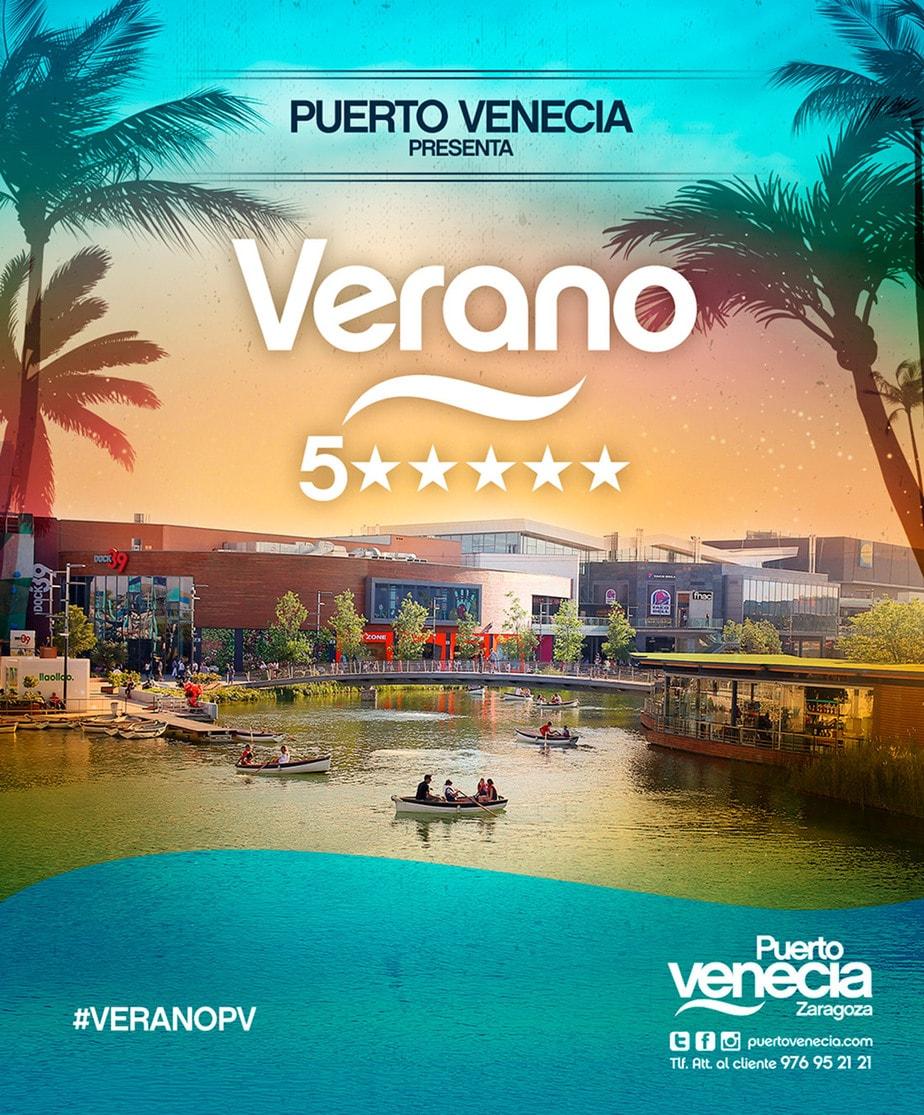 Creatividad campaña Verano 5 estrellas Puerto Venecia