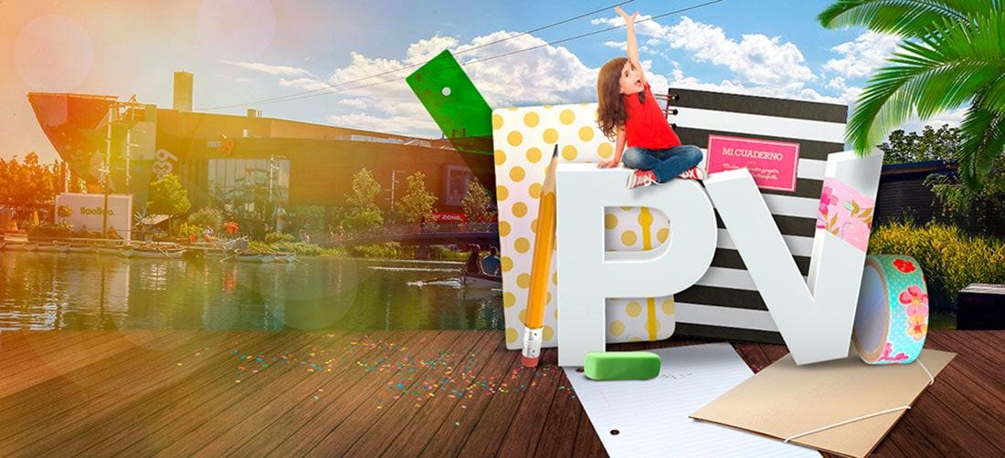 Imagen 3D campaña Vuelta al cole Puerto Venecia