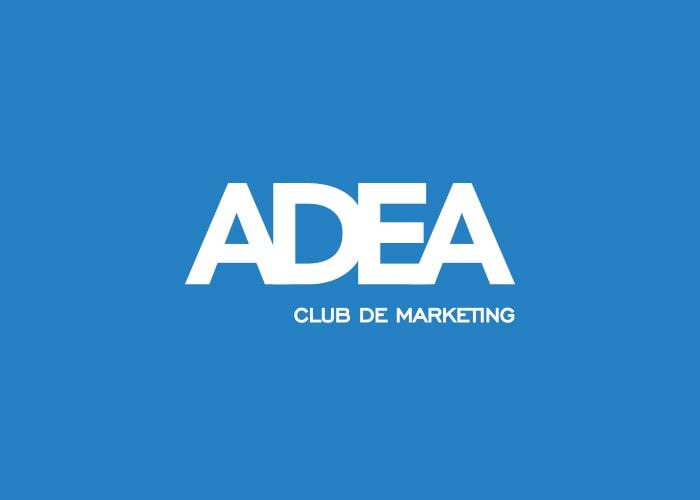 Diseño de logotipo ADEA. Imagen corporativa