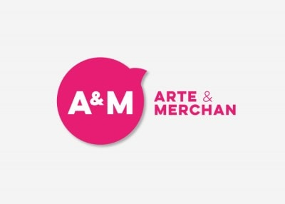 Creación de imagen corporativa para Arte y Merchan Zaragoza