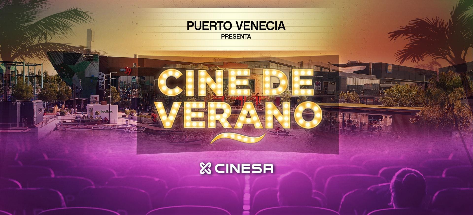 Cine de Verano Puerto Venecia