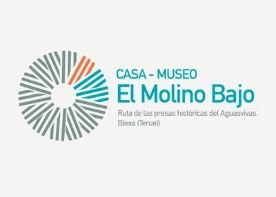 Diseño de logotipo para El Molino Bajo Museo Blesa.