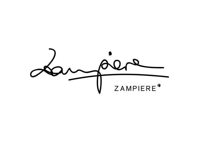 Diseño logotipo Zampiere. Branding